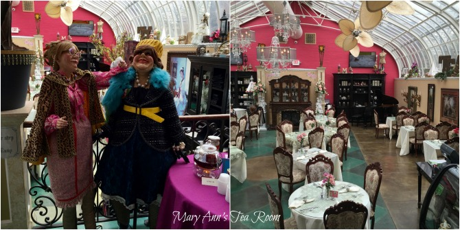 St. Louis  Weekend Foodie Get Away, Mary Ann's Tea Room