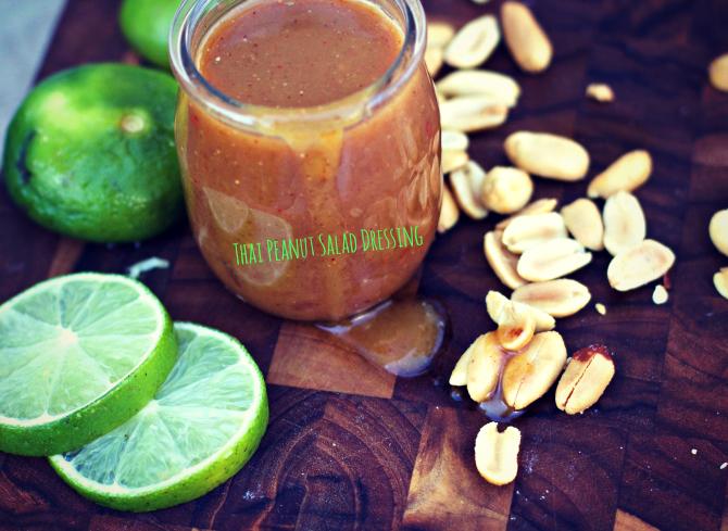 Thai Peanut Salad Dressing