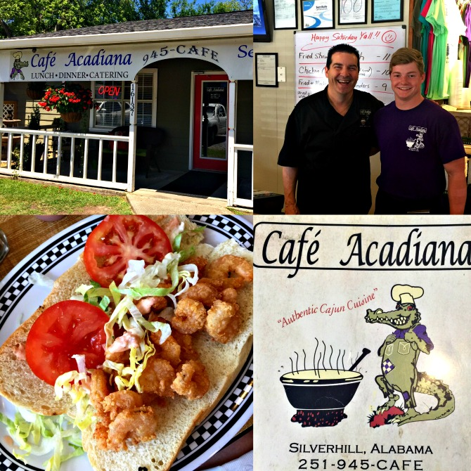 Cafe Acadiana by Angela Robert