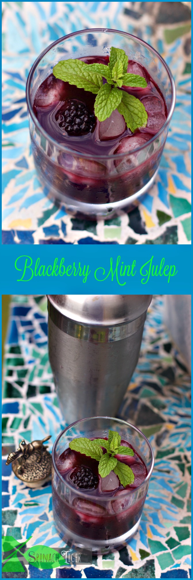 Blackberry Mint Julep by Angela Roberts