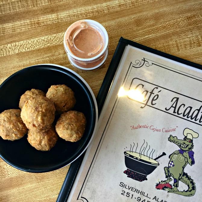 Boudin Balls at Cafe Acadiana