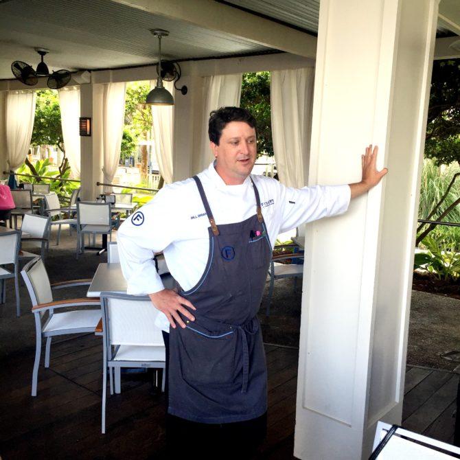 Chef at Fisher's Orange Beach by Angela Roberts