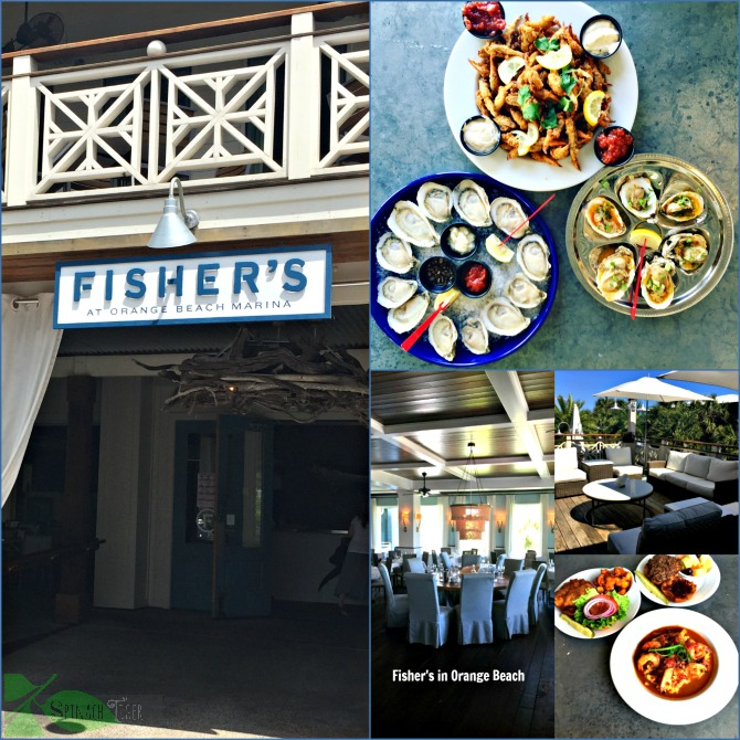Fisher's Restaurant in Orange Beach Alabama by Angela Roberts