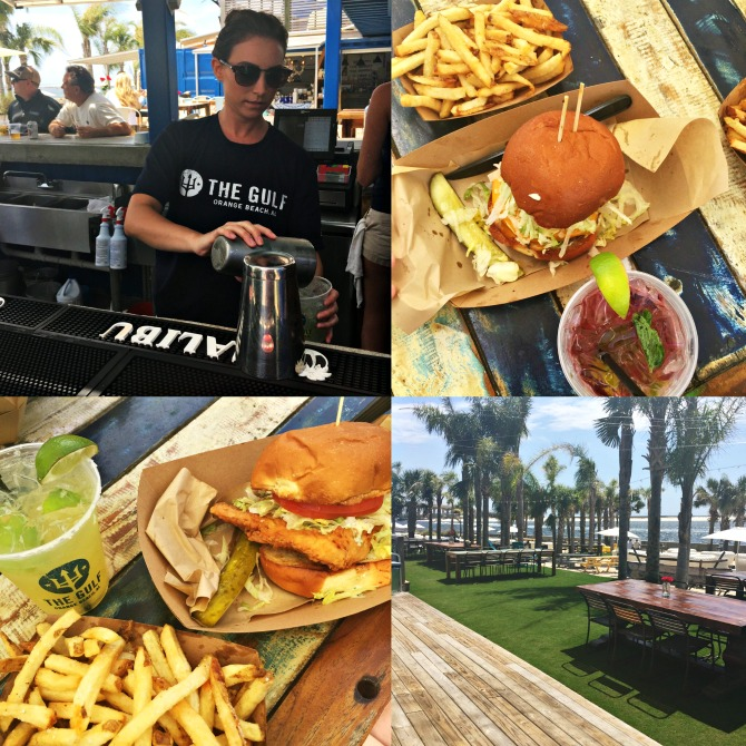 Orange Beach Gulf Restaurant by Angela Roberts