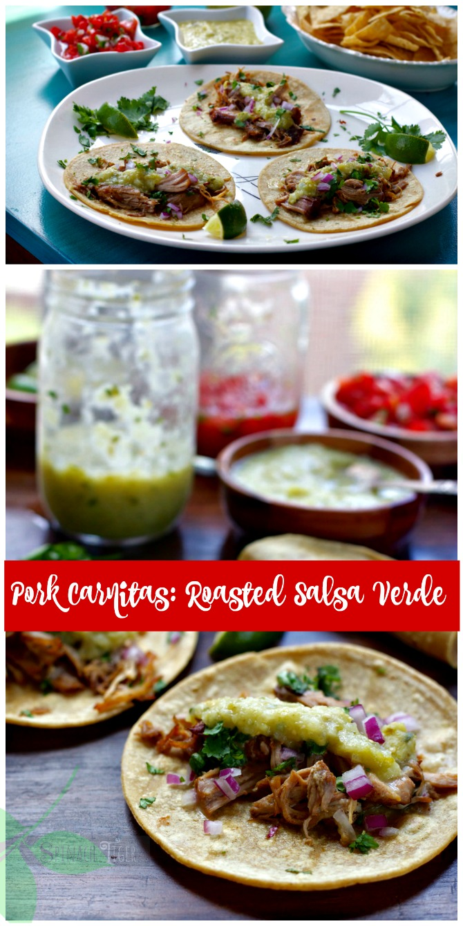 How to Make Salsa Verde from Spinach Tiger