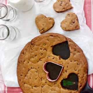 Chocolate Chip Skillet Cookies