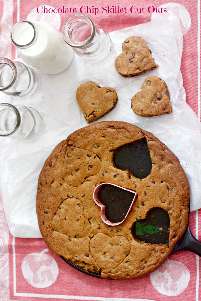 Chocolate Chip Skillet Cookies by Angela Roberts