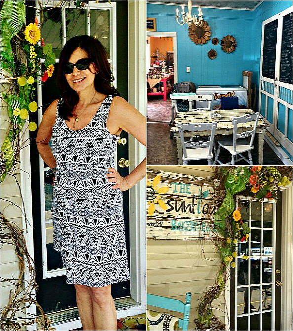 Sunflour Cafe in Alabama by Angela Roberts