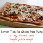 How to Make Sheet Pan Pizza by Spinach Tiger