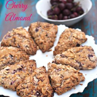 Chocolate Cherry Almond Scones Recipe