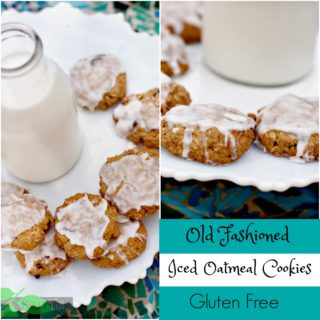 Gluten Free Oatmeal Cookies Recipe