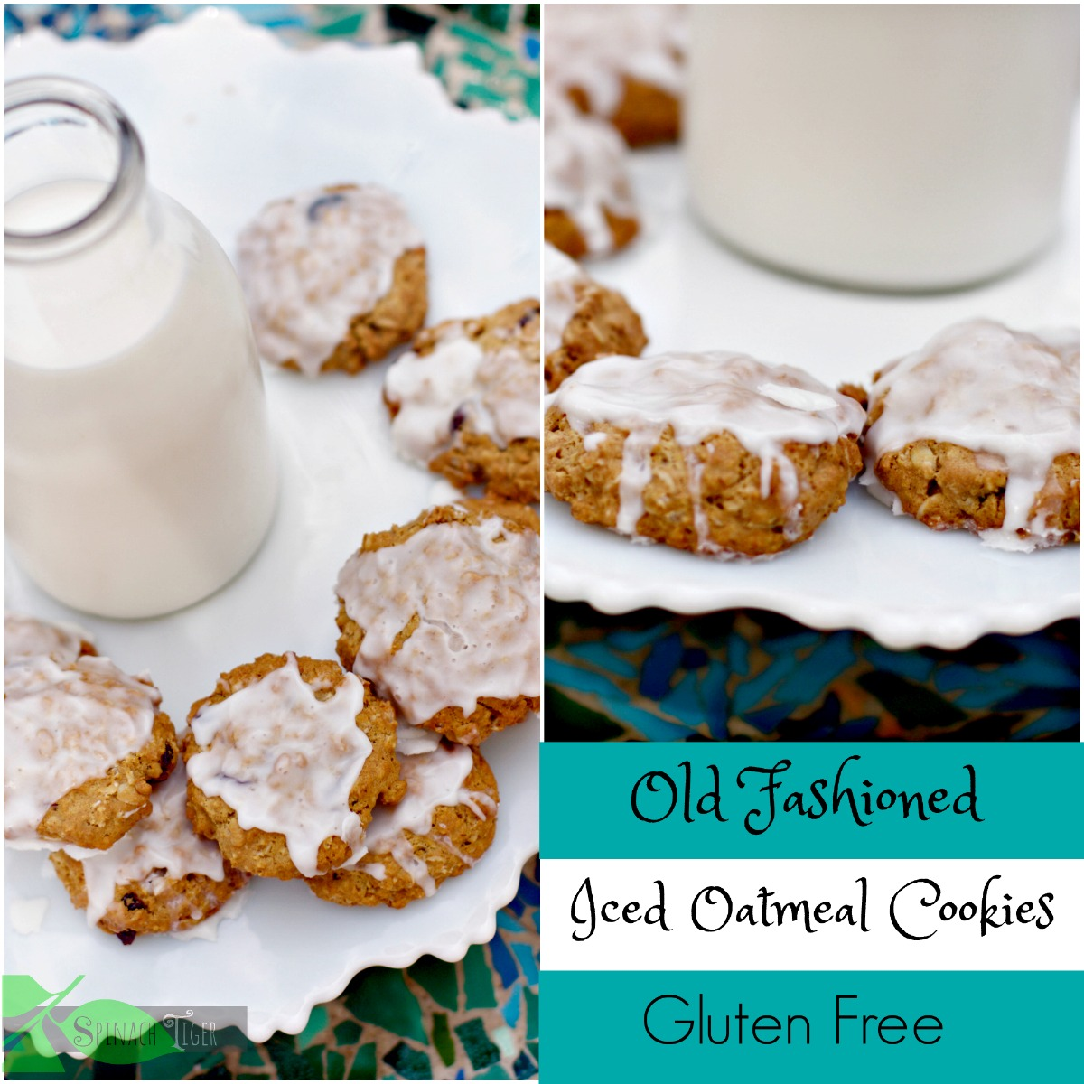 Gluten Free Oatmeal Cookies from Spinach Tiger