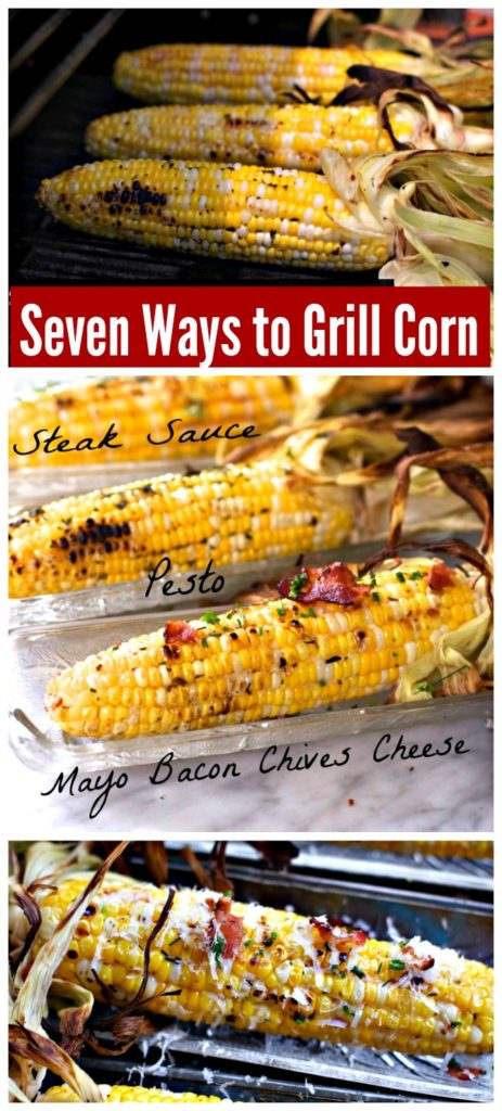 Seven Ways to Grill Corn by Spinach TIger