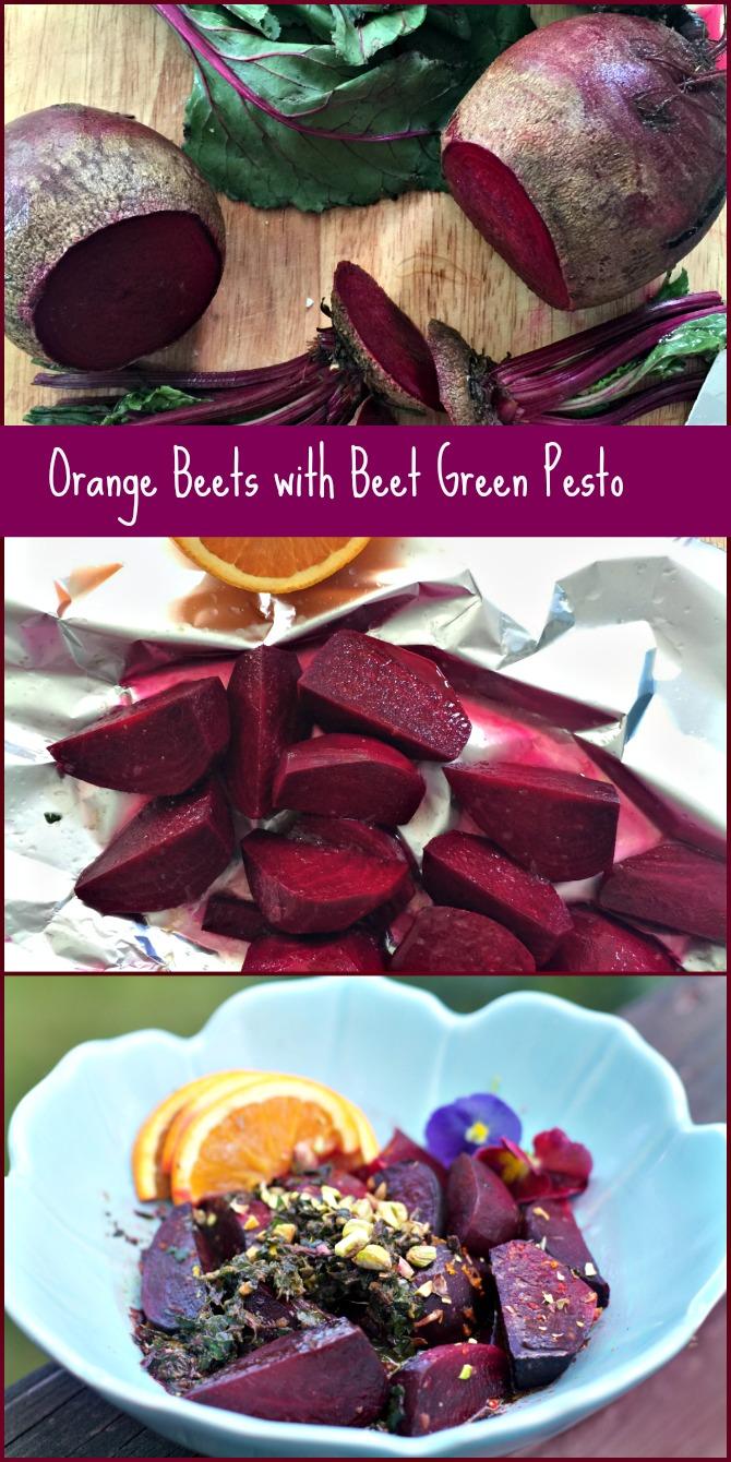 Orange Beets Collage