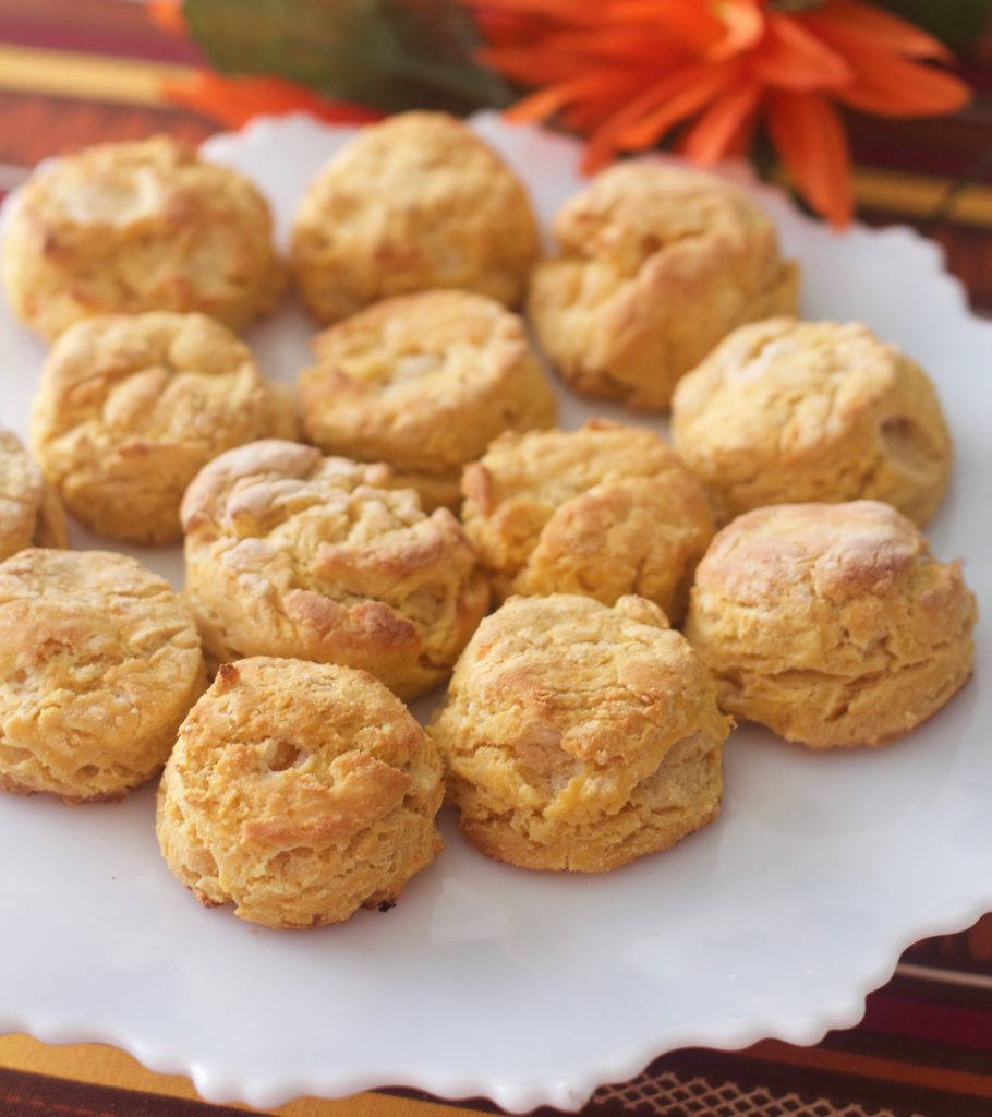 Sweet Potato Biscuits from Spinach Tiger