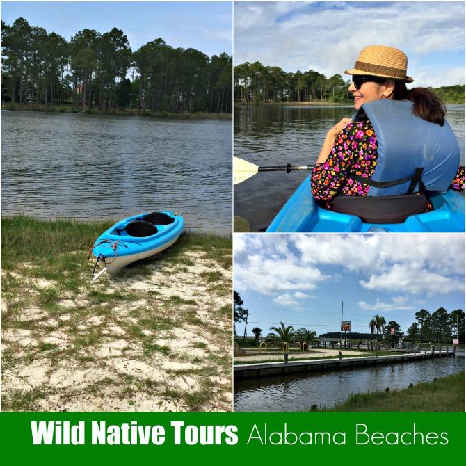 Kayaking at Alabama Beaches by Angela Roberts