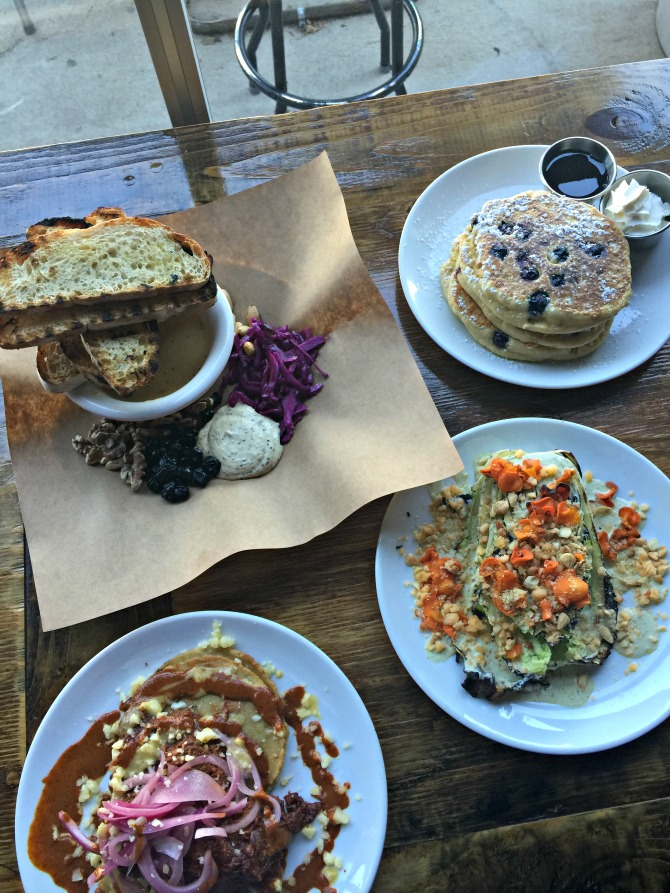 Brunch at Family Wash Garage Coffee by Angela Roberts