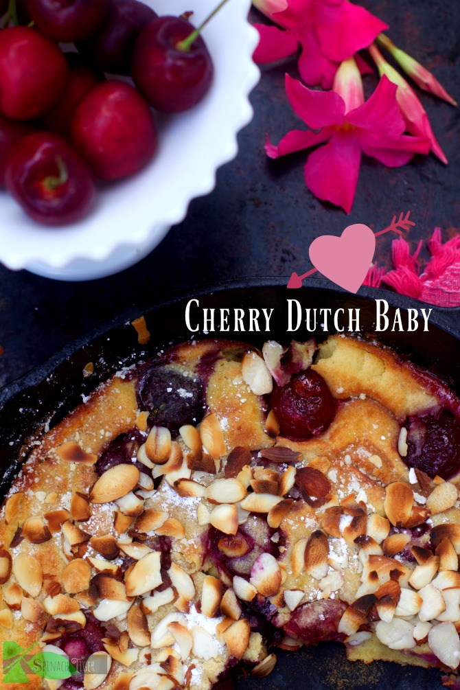 Cherry Dutch Baby Gluten Free