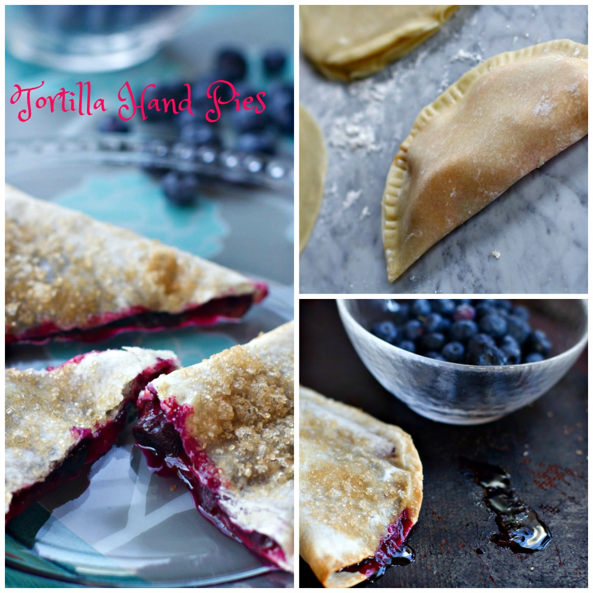Tortilla Fruit Hand Pies from Spinach Tiger