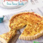 Pennsylvania Dutch Onion Pie with Bacon