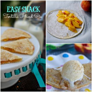 Easy Raw Tortilla Fruit Hand Pies