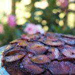 Most Beautiful Upside Down Plum Cake Recipe