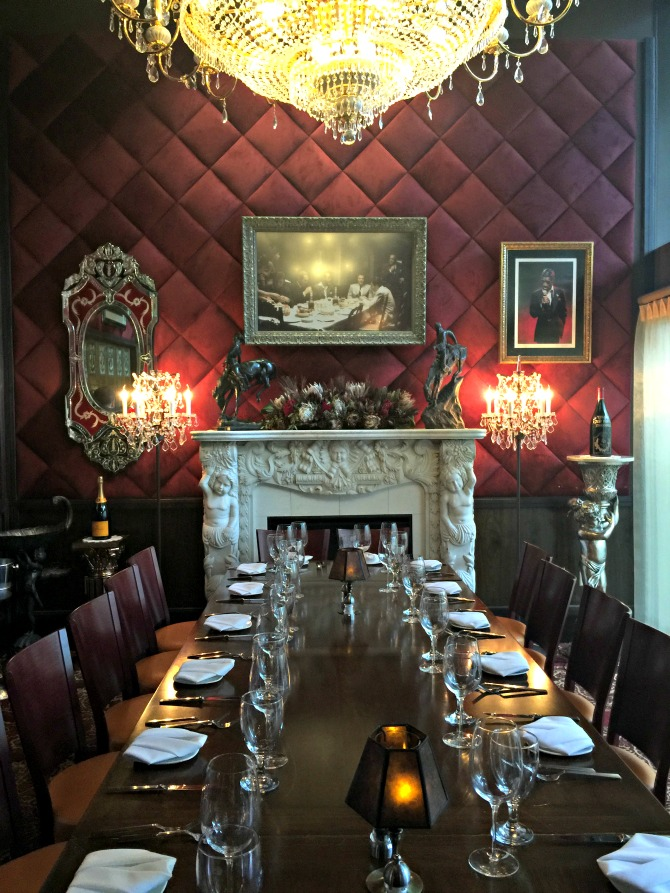 Jeff Rubys Steakhouse Private Room Nashville