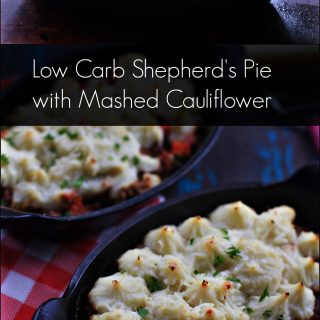 5 Low-Carb Cauliflower Crusted Shepherd's Pie Recipes