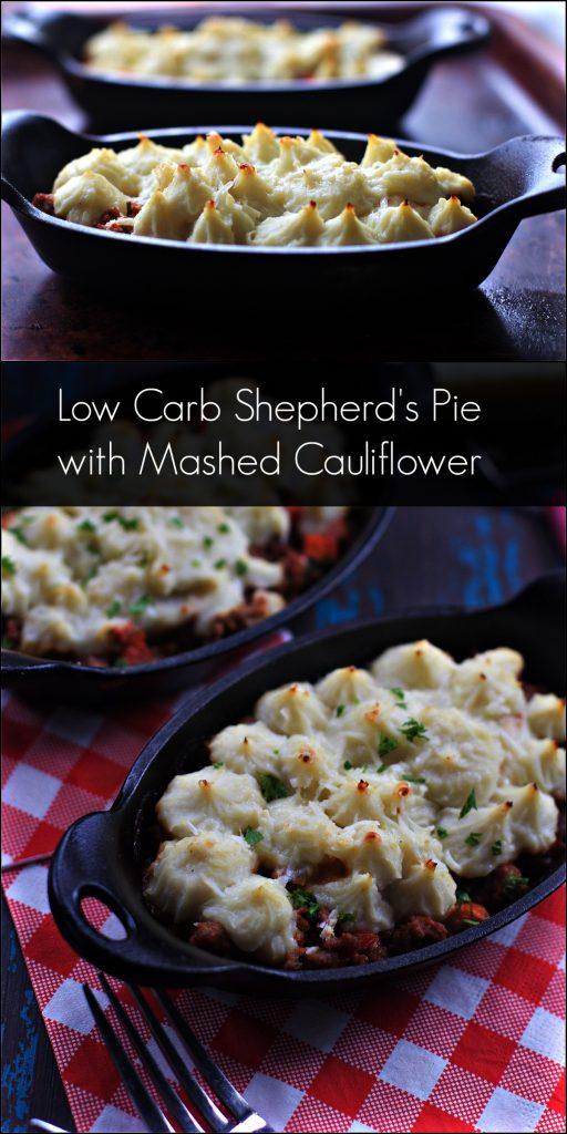 Five Low Carb Cauliflower Crust Shepherd's Pie Recipes from Spinach Tiger