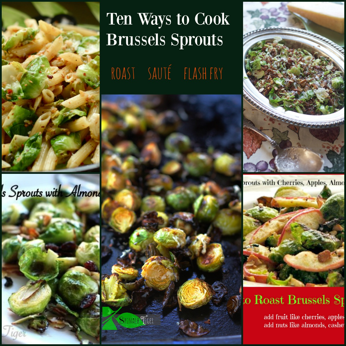 How to Cook Brussels Sprouts by Angela Roberts
