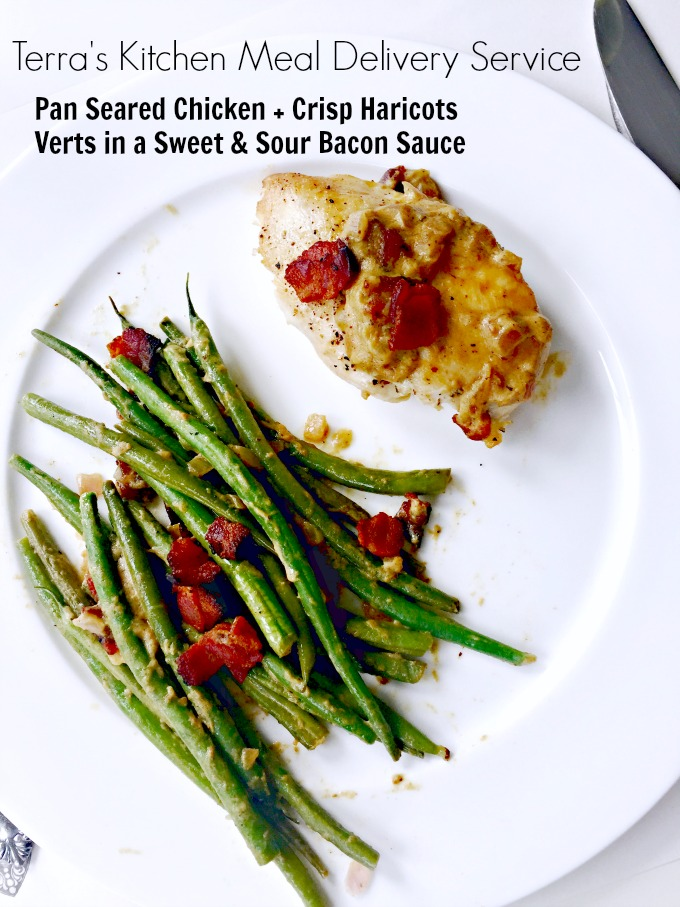 Pan Seared Chicken With Haricots Verts From Terrau0027s Kitchen Best Meal  Delivery Service By Angela Roberts