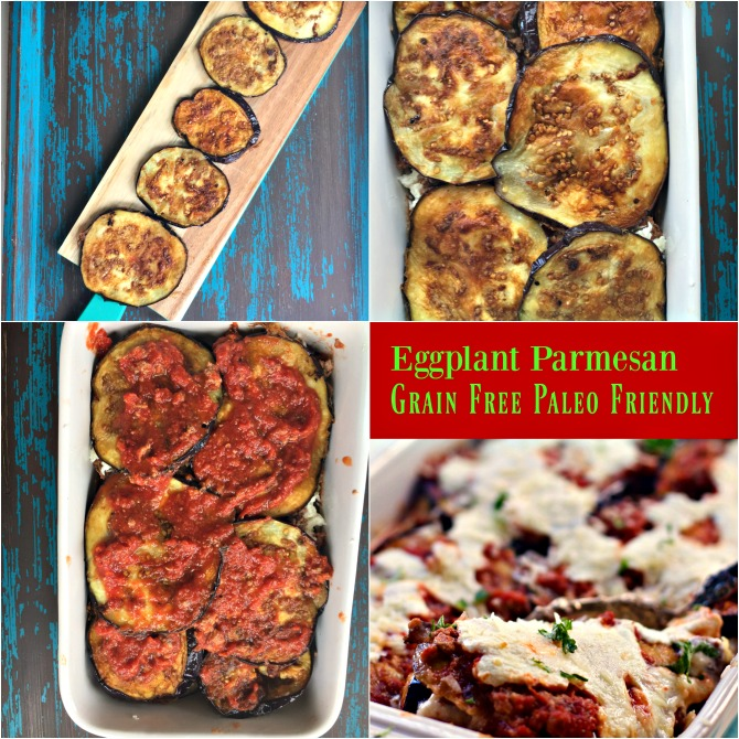Low Carb Baked Eggplant Parmesan Recipe by Spinach Tiger