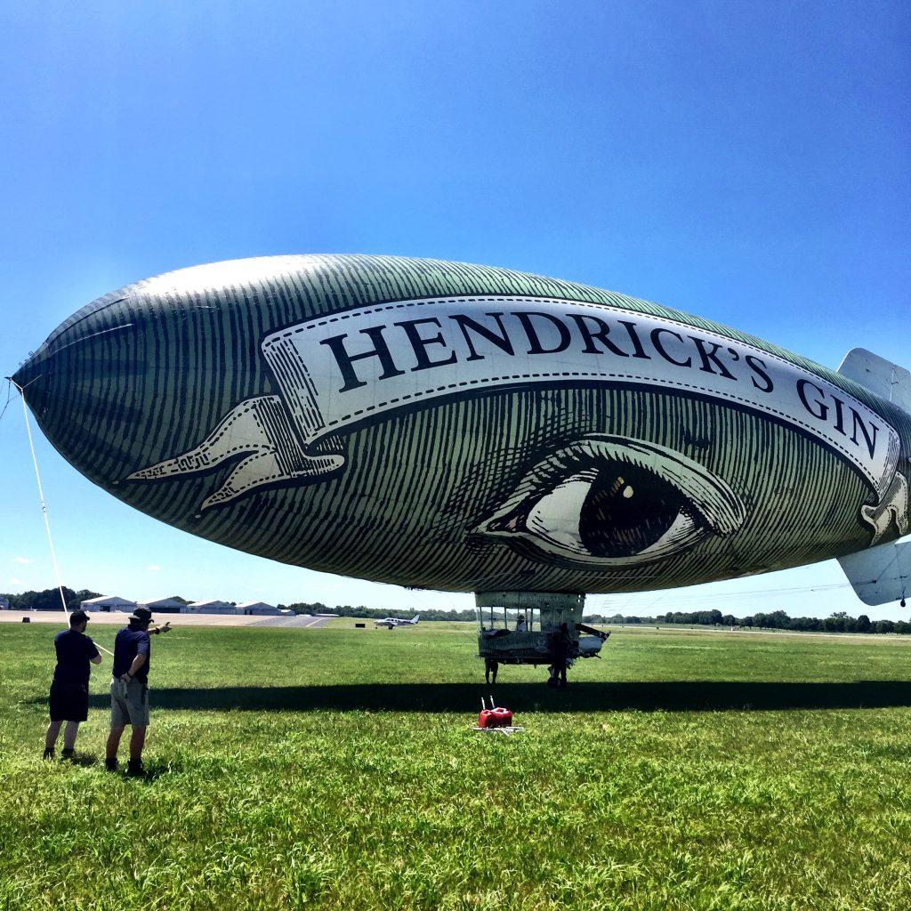 Hendrick's Gin Flying Cucumber Basil Gin Smash