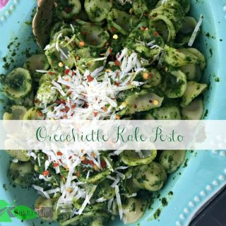 A Kale Pesto Recipe