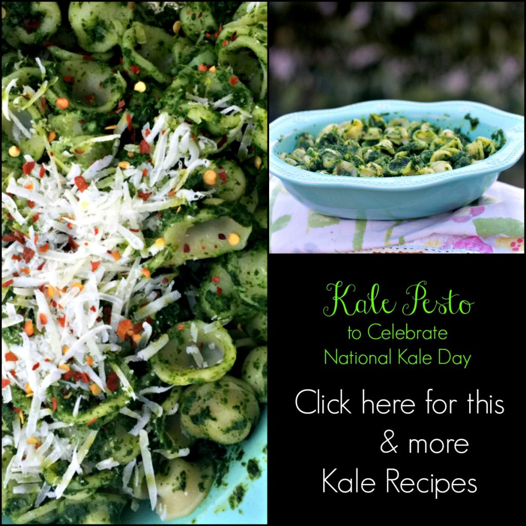 How to Make Kale Pesto Recipe by Angela Roberts