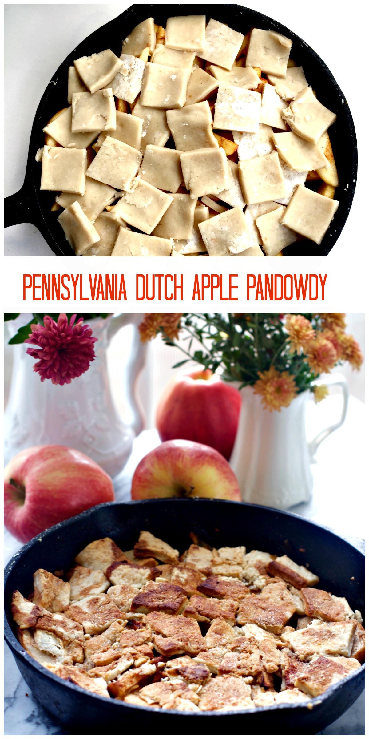 Amish Apple Pandowdy Dessert by Angela Roberts