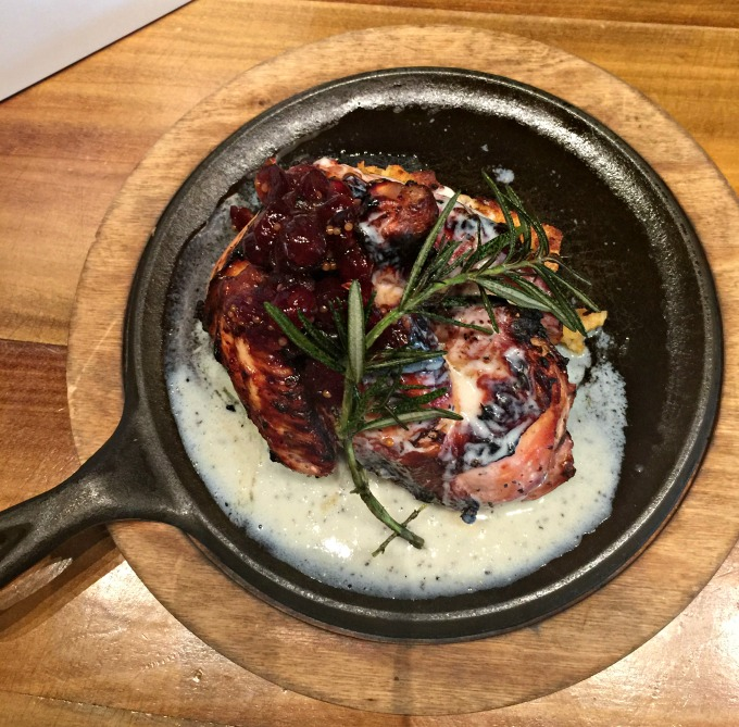 Roasted Chicken at Honeysuckle Local & Social by Angela Roberts