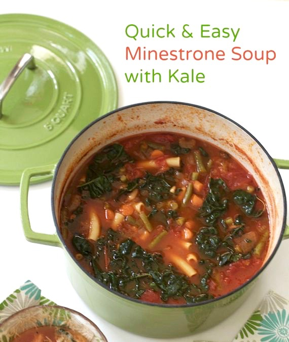 Minestrone, Healthy Soup Recipes