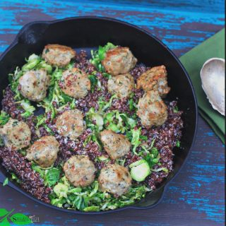 Ground Chicken Meatballs, Gluten Free, Paleo