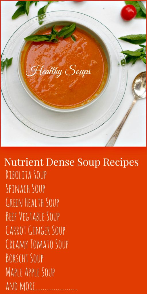 Healthy Soup Recipes by Angela Roberts