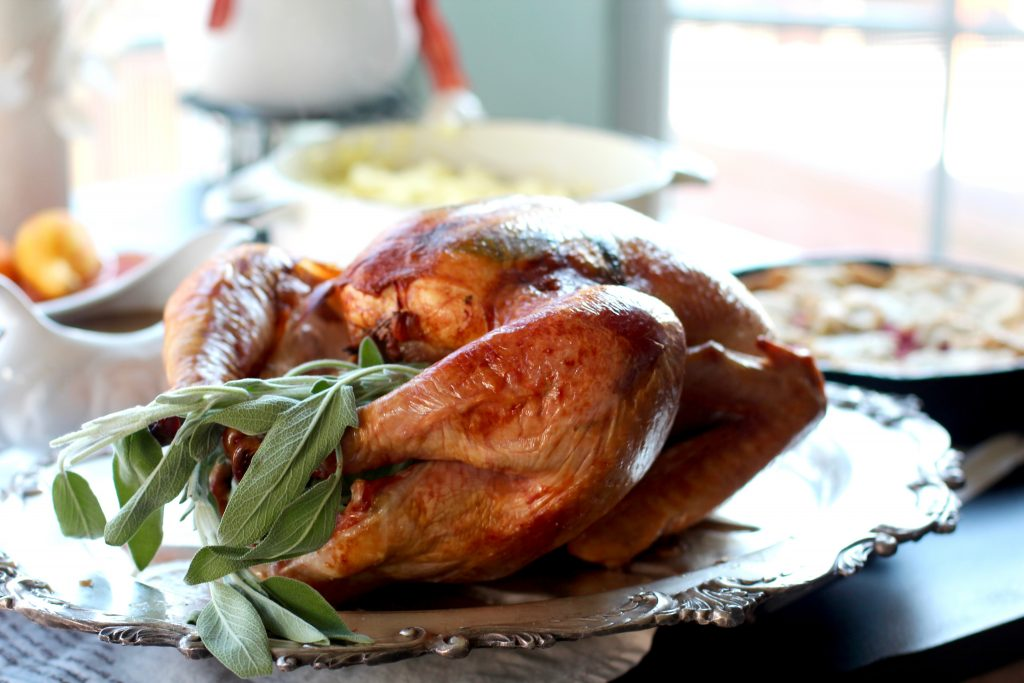 Gourmet Thanksgiving Recipes, Turkey from spinach Tiger