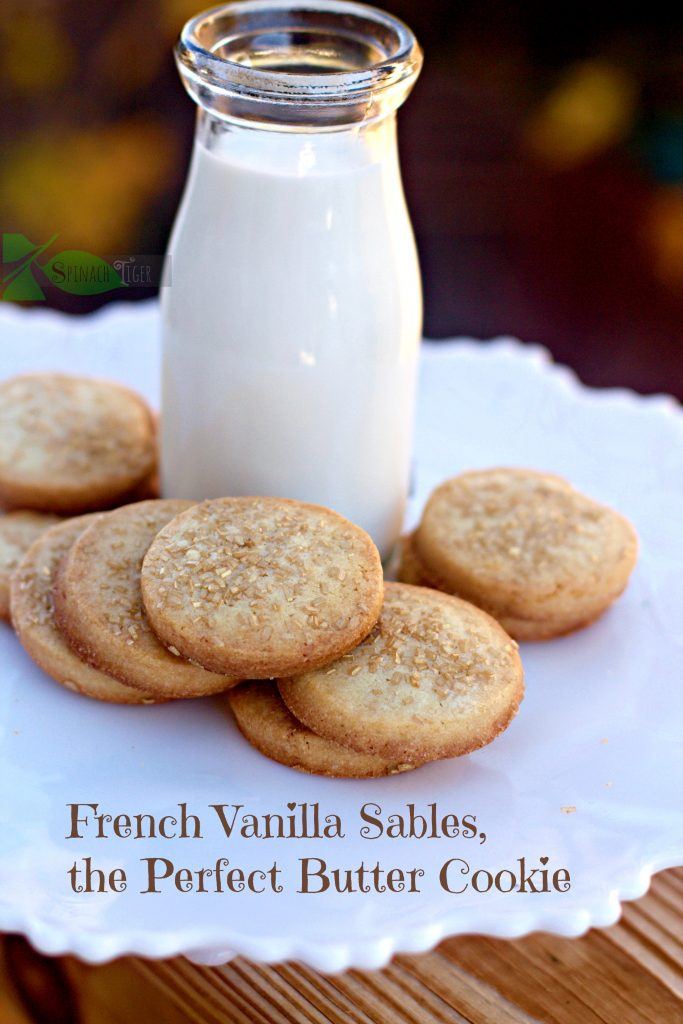 Make-perfect-french--sable-cookies-from-spinach-tiger