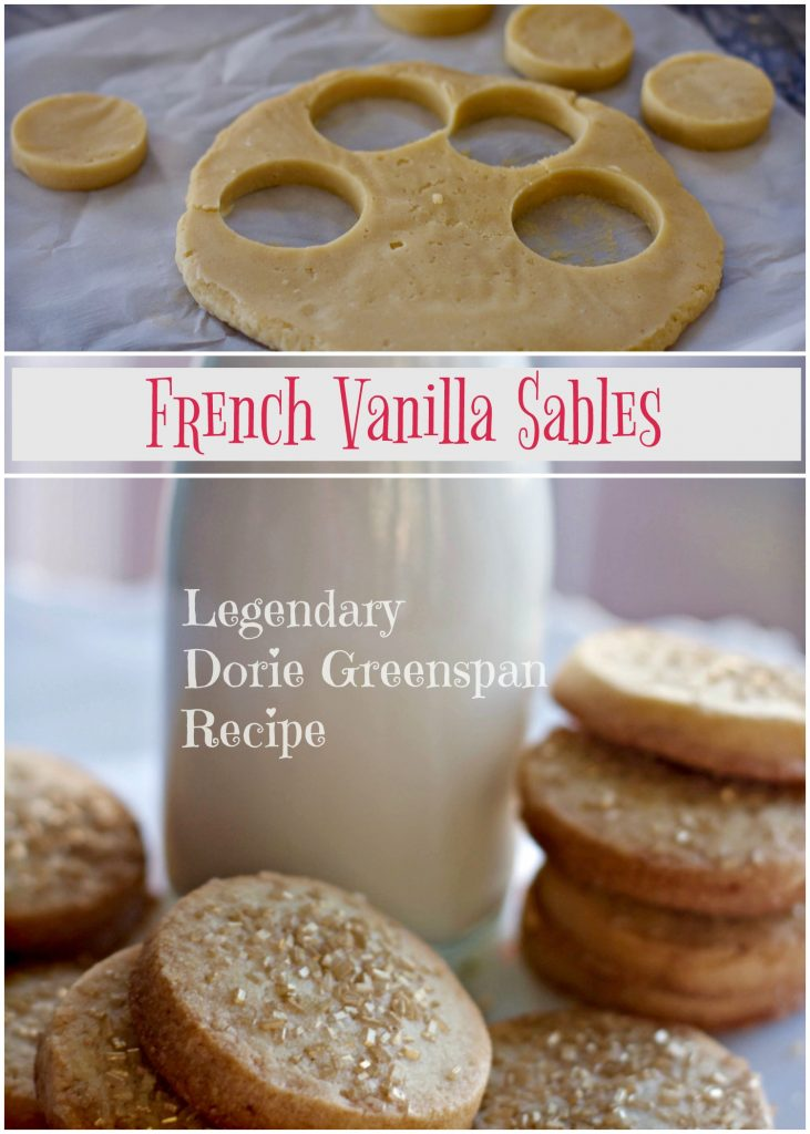 French Sables Cookie from Spinach Tiger