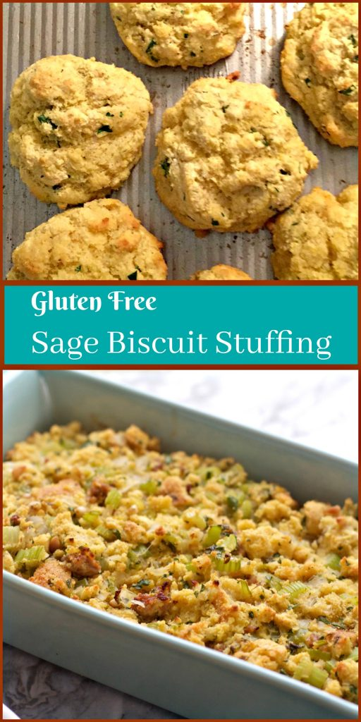 Gluten Free Sage Cornbread Biscuits from Spinach Tiger