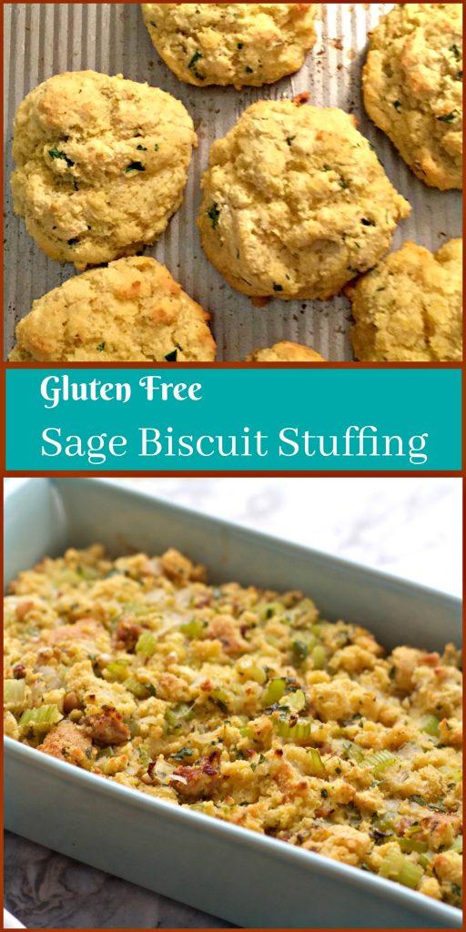 Gluten Free Sage Cornbread Biscuits from Spinach Tiger