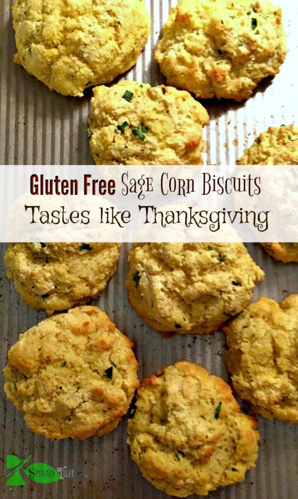 Gluten Free Sage Biscuits Stuffing