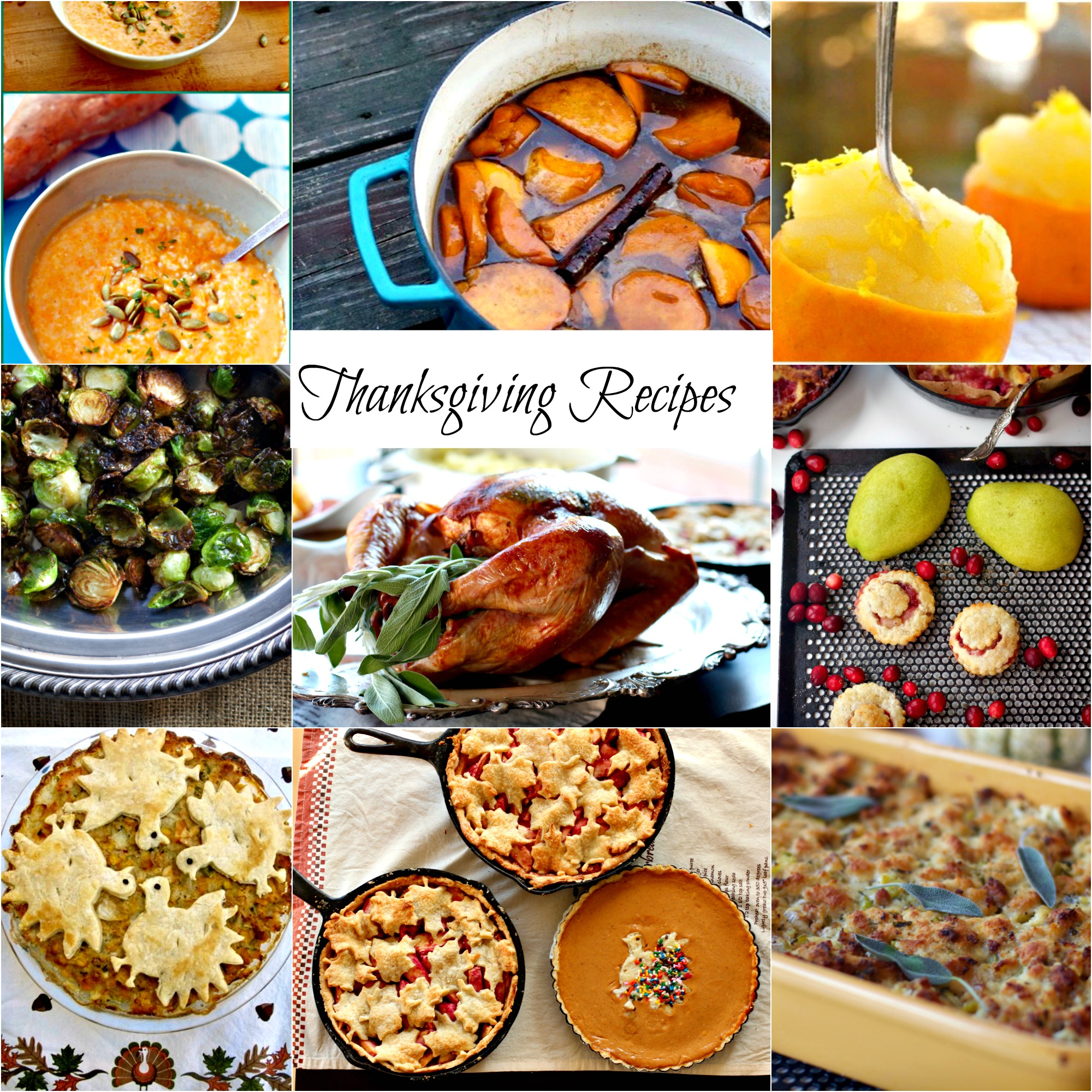 50 Gourmet Thanksgiving Recipes, From Soup To Nuts