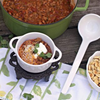 Country Sausage Black-Eyed Pea Chili