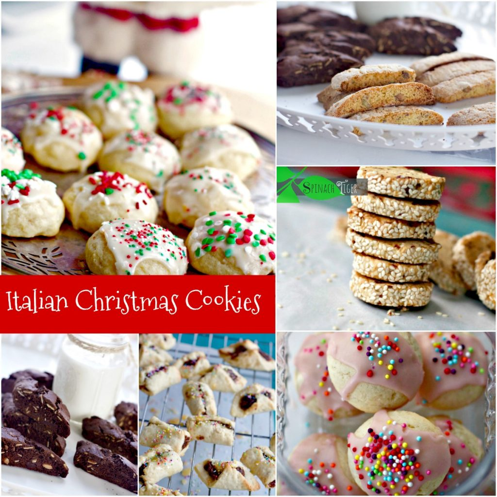 Our Favorite Italian Christmas Cookies from Spinach Tiger