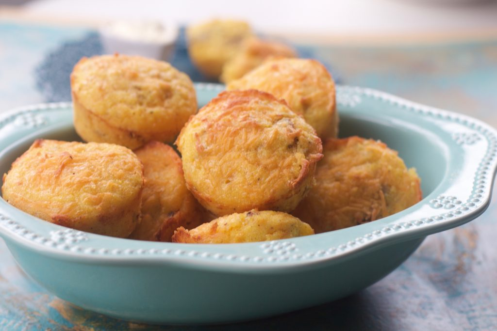 Sausage Corn Muffins from Spinach Tiger